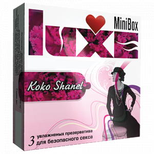 Презервативы Luxe Mini Box Коко Shanel