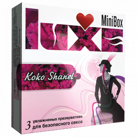 Презервативы Luxe Mini Box Коко шанель